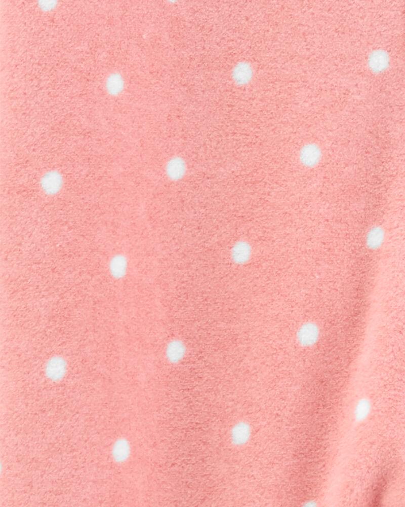 Grenouillère pour dormir et jouer en molleton avec glissière et souris, , hi-res