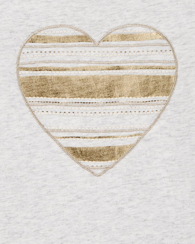 Sequin Heart Tee, , hi-res