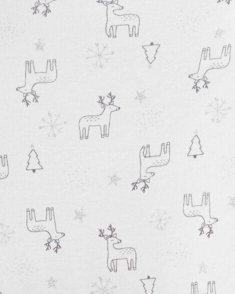 Ensemble 3 pièces petit gilet avec renne