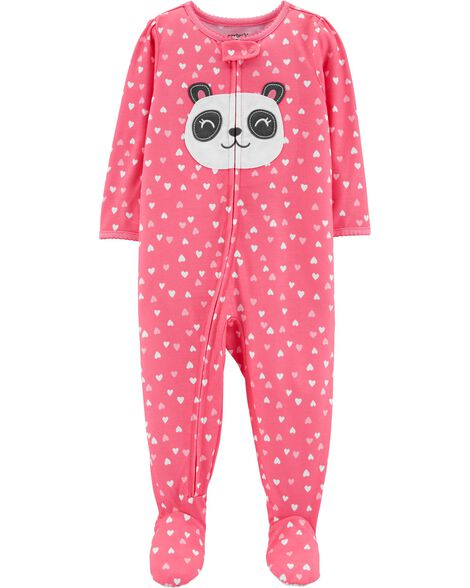 1-Piece Panda Poly PJs