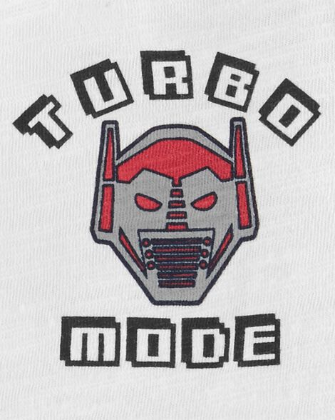 Turbo Mode Robot Tee