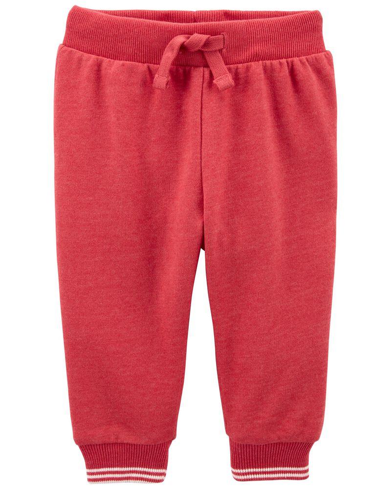 Pantalon d'entraînement en tricot doux, , hi-res