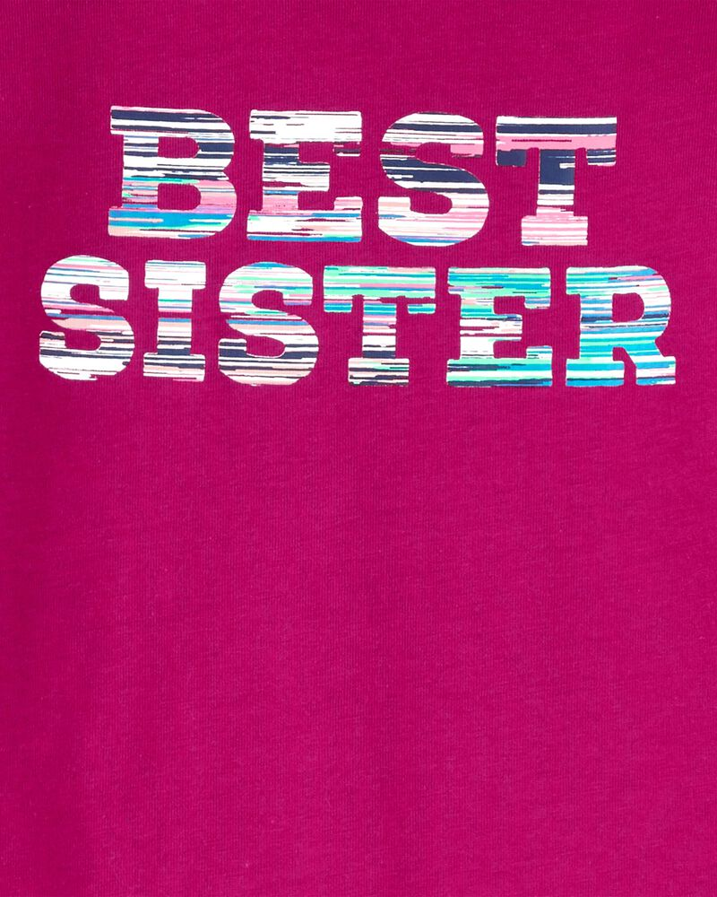 Best Sister Hooded Jersey Tee, , hi-res