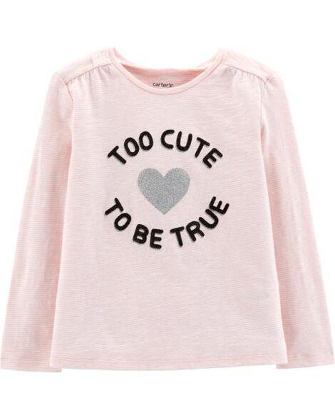 Haut en jersey Too Cute To Be True