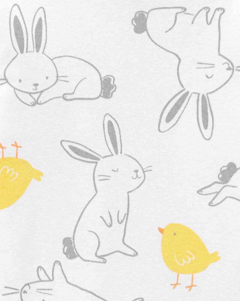 Pyjamas 2 pièces en coton ajusté Pâques, , hi-res