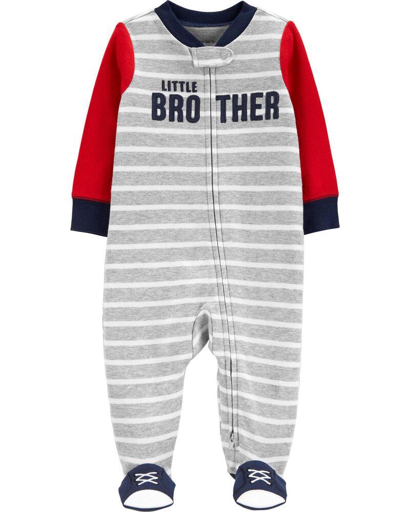 Little Brother 2-Way Zip Sleep & Play, , hi-res