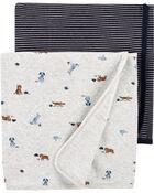 Emballage de 2 couvertures à animaux, , hi-res