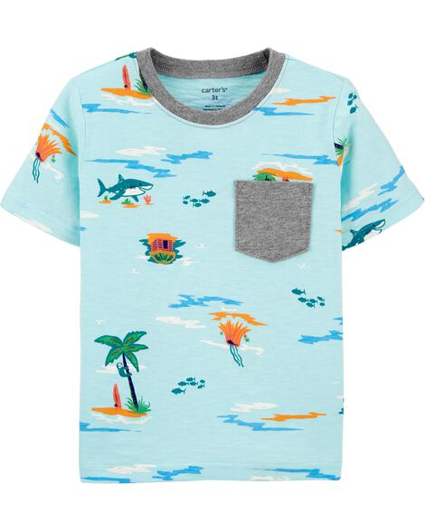 Beach Pocket Jersey Tee