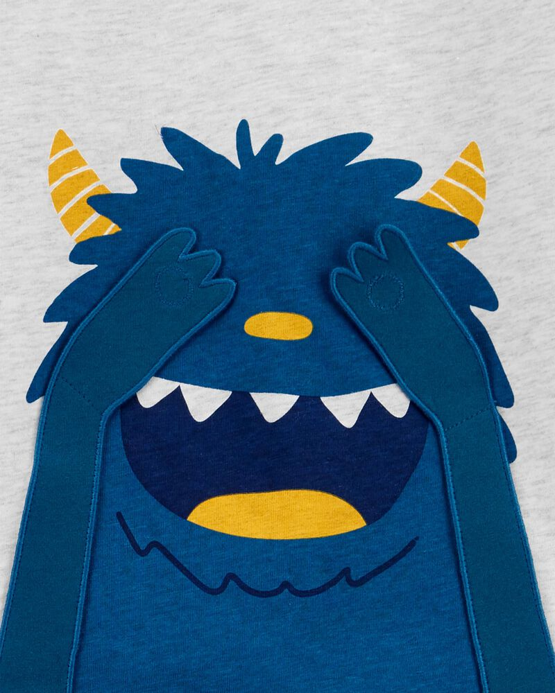2-Piece Monster French Terry Pullover & Pant Set, , hi-res