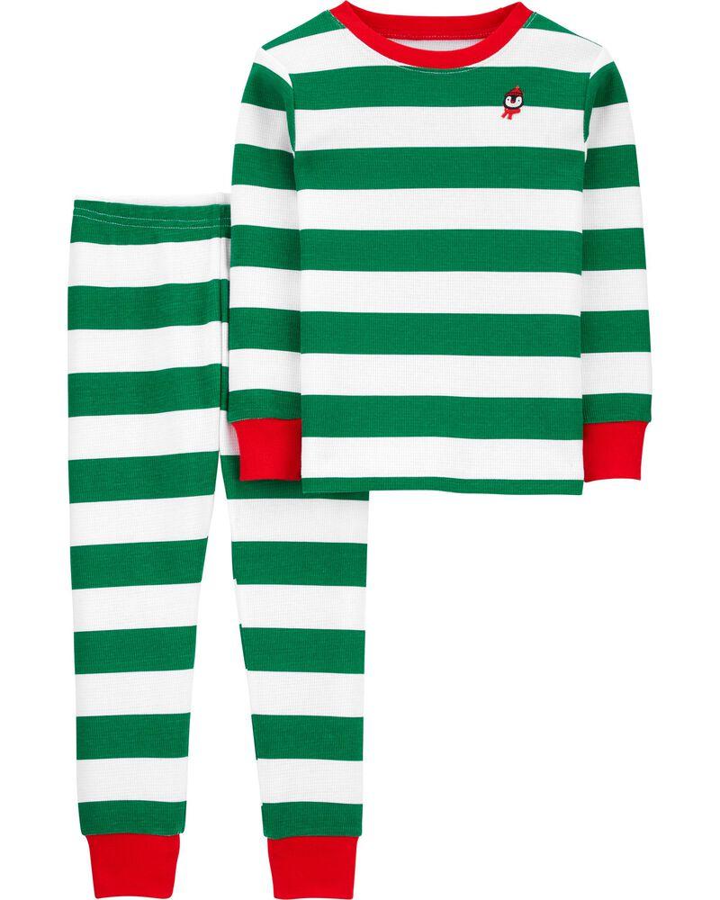 Pyjama des Fêtes 2 pièces en tissu isotherme, , hi-res