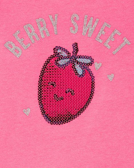 Haut nuisette avec fraise à paillettes