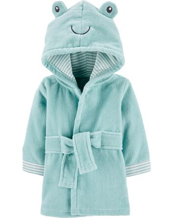 Frog Hooded Bath Robe