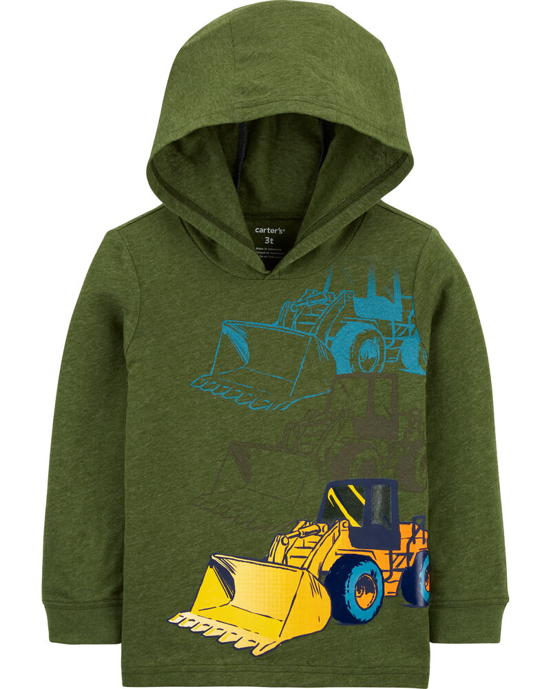 Construction Hooded Jersey Tee, , hi-res