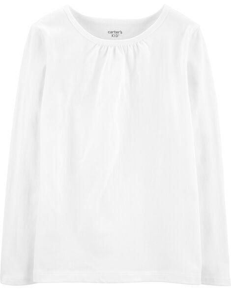 T-shirt en coton blanc