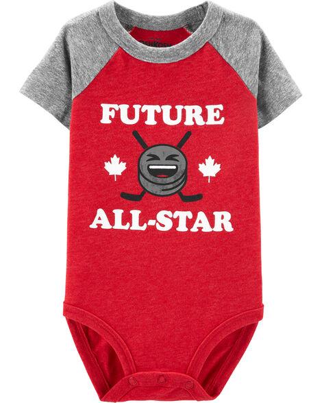 Canada Future All-Star Raglan Bodysuit