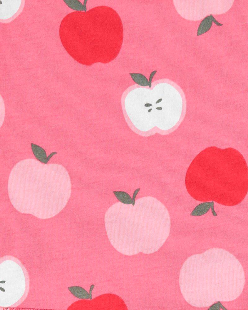 Robe en jersey à motif de pommes, , hi-res