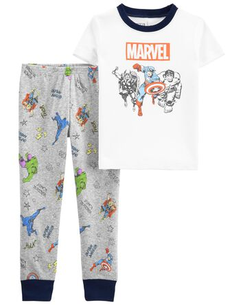2-Piece 100% Snug Fit Cotton PJs