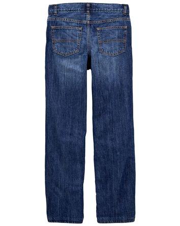 Jeans doublé de micromolleton - dél...