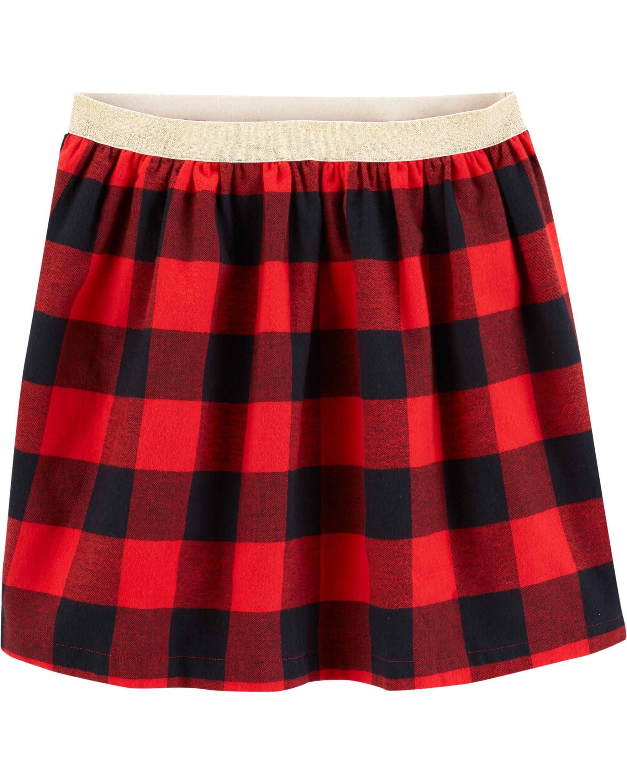 Buffalo Check Flannel Skirt Carter S Oshkosh Canada
