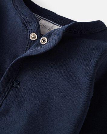 3-Piece Organic Cotton Cardigan Set