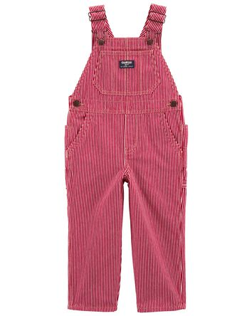 Hickory Stripe Overalls