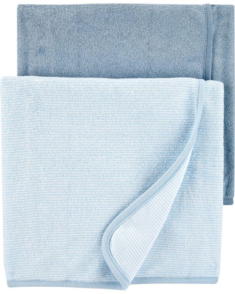 Emballage de 2 serviettes pour  bébé, , hi-res