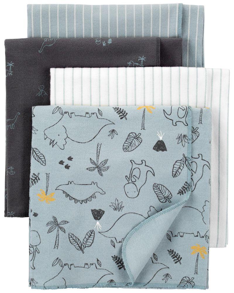 Emballage de 4 couvertures à emmailloter, , hi-res