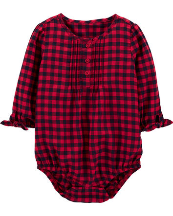 Buffalo Check Bodysuit