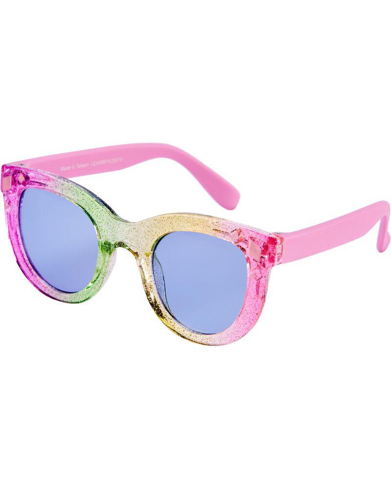 Rainbow Ombre Gem Sunglasses, , hi-res