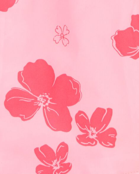 Coupe-vent fleuri