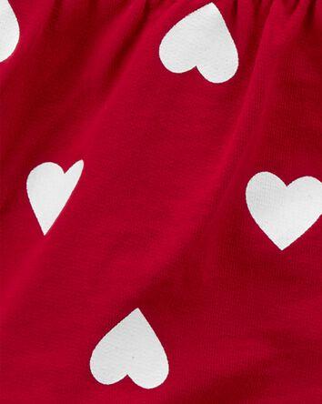 Ensemble 3 pièces cardigan à cœur