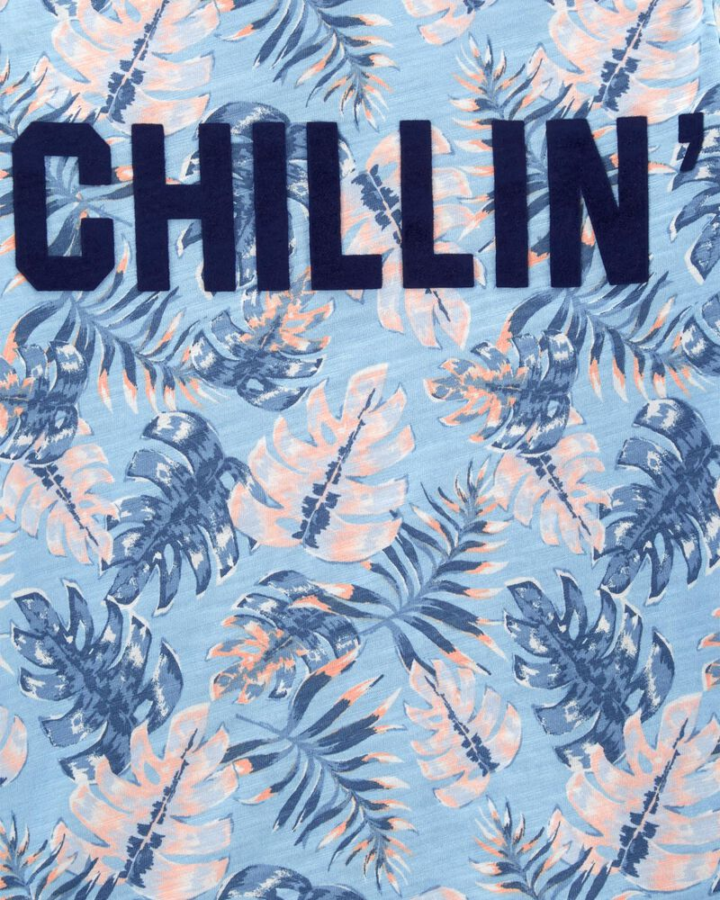 Chillin' Palm Tee, , hi-res
