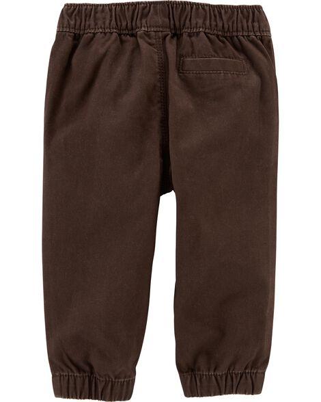 Ensemble 2 pièces chandail et pantalon en sergé