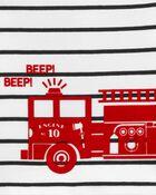 Ensemble 3 pièce petit short à camion d'incendie, , hi-res