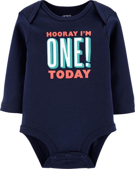 First Birthday Bodysuit