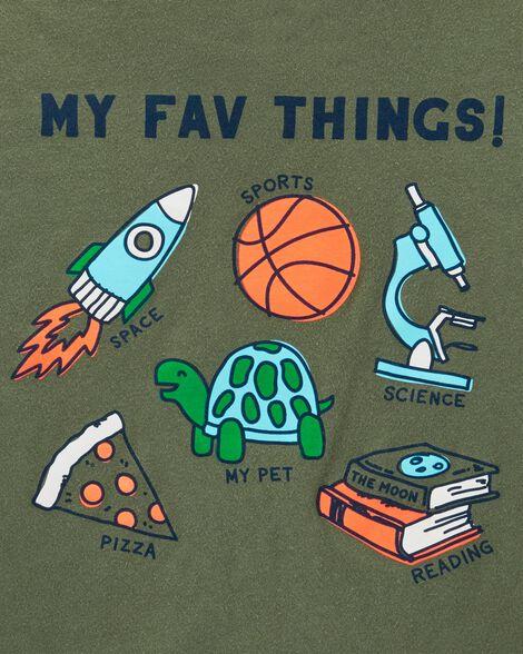 T-shirt en jersey My Fav Things