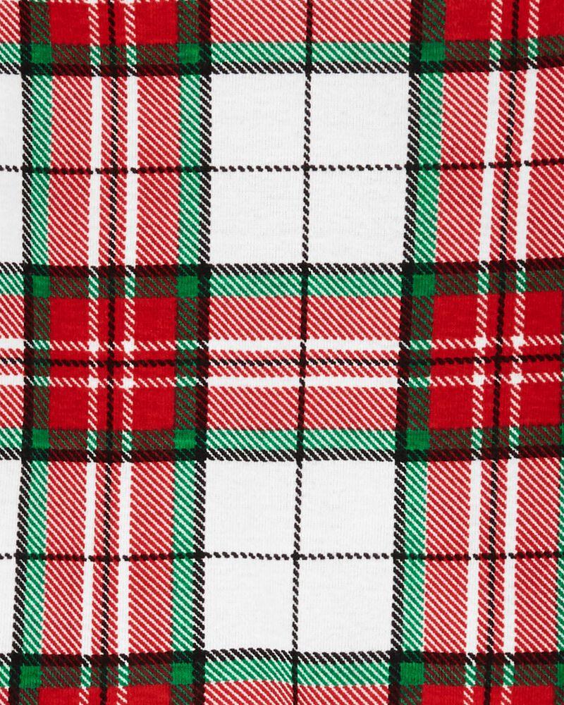 2-Piece Plaid 100% Snug Fit Cotton PJs, , hi-res