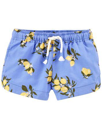Short d'été à citron