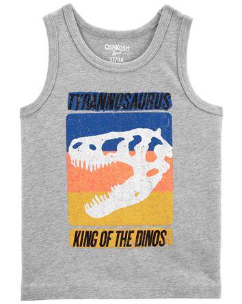 Débardeur à tyrannosaure