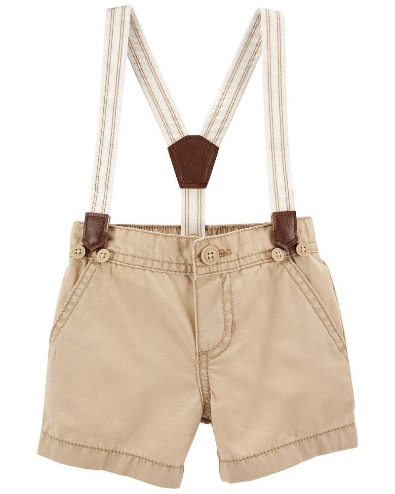 Suspender Shorts, , hi-res