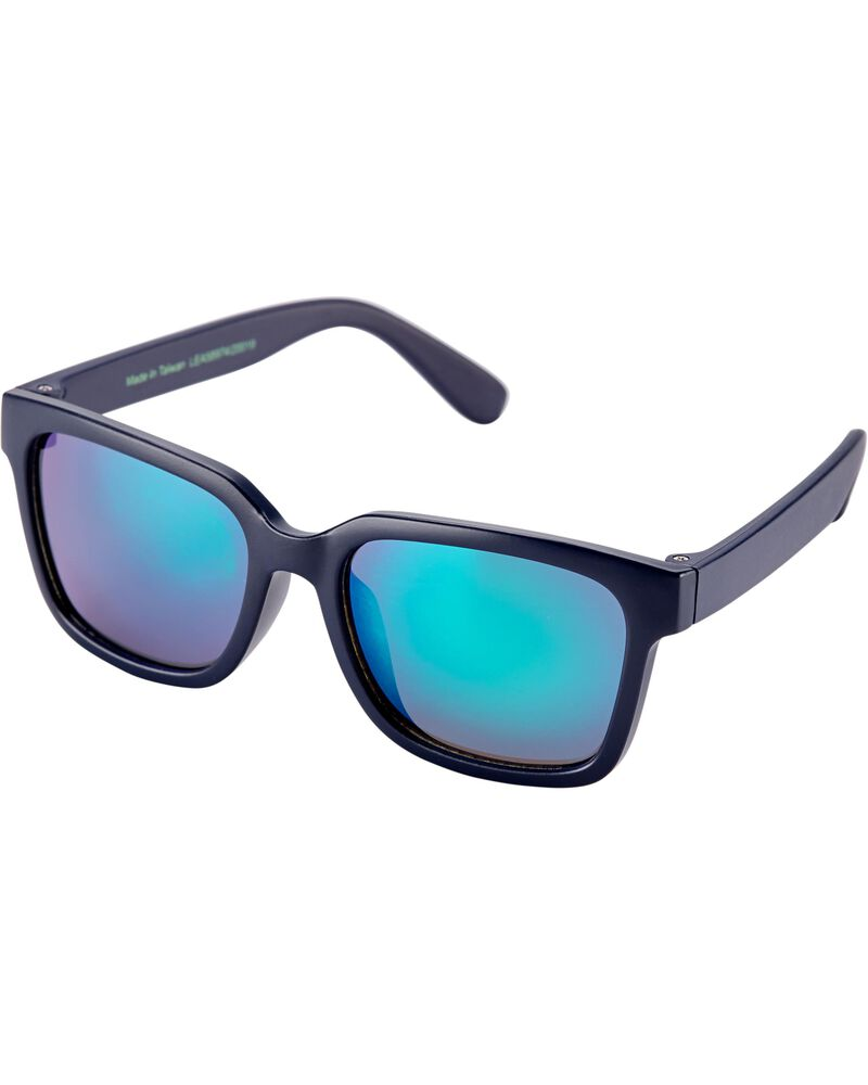 Navy Square Sunglasses, , hi-res