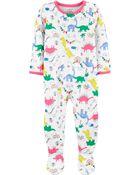 Pyjama 1 pièce de coupe ample à pieds, , hi-res