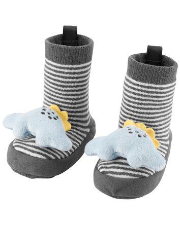 Chaussons pour bébé à dinosaure