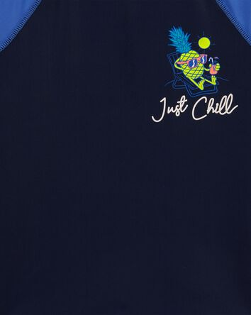 Just Chill Raglan Rashguard