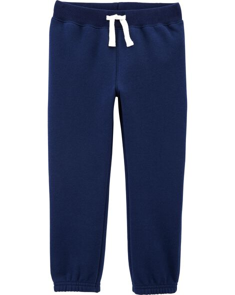 Pull-On Fleece Pants