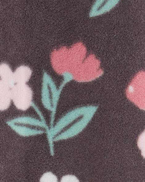Combinaison fleurie à capuchon