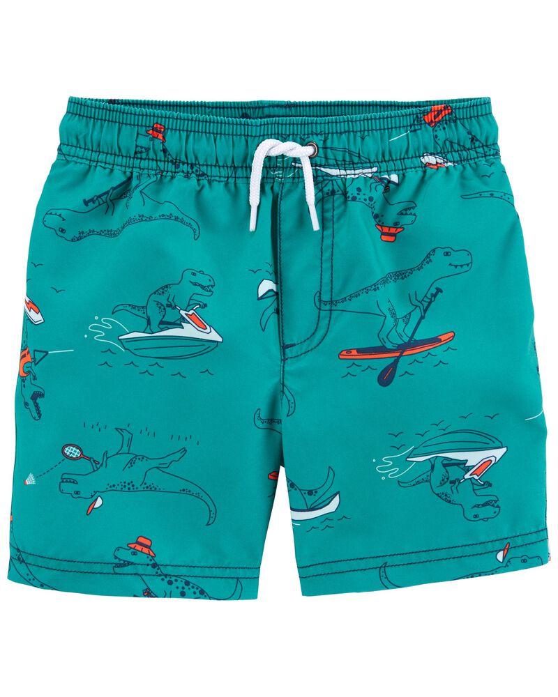 Dinosaur Swim Trunks, , hi-res