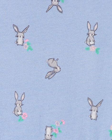 Robe en jersey à tutu et lapin