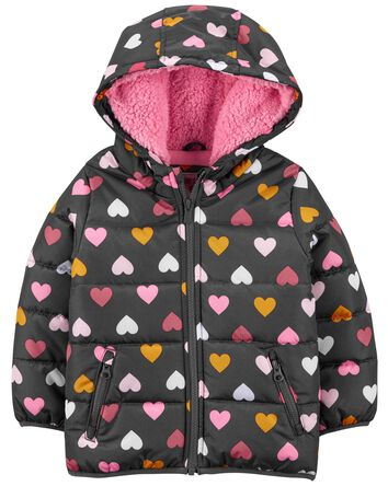 Heart Puffer Jacket