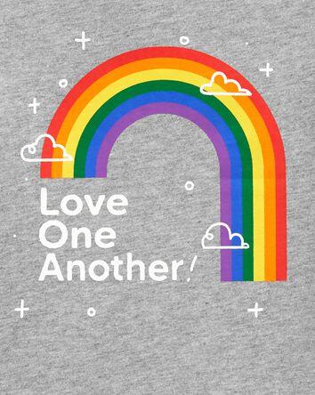 T-shirt en jersey Love One Another